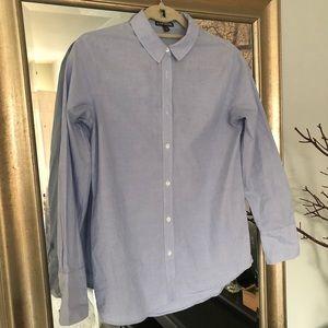 Express Button Down Career Shirt